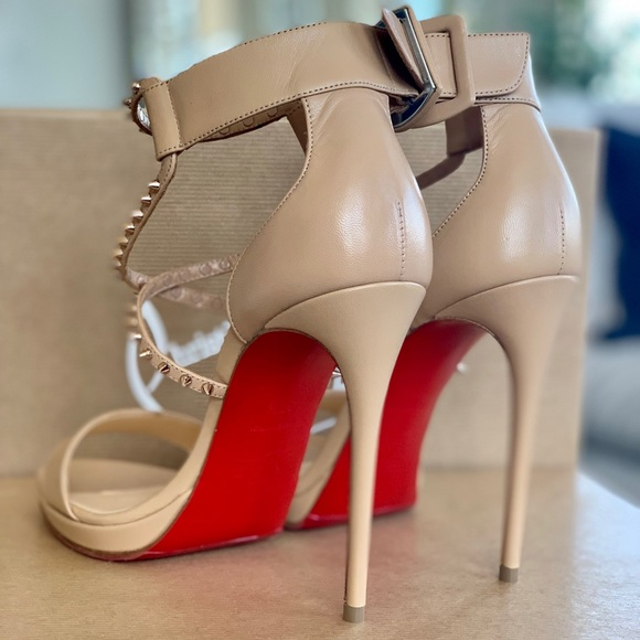 info for bc8fd 710a1 Christian Louboutin Choca Lux 120 NWT